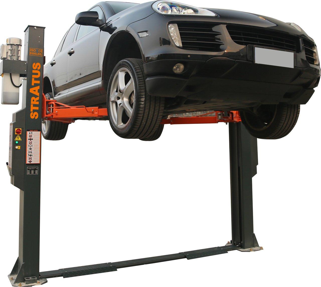 Stratus Commercial Grade BasePlate 9,300 lbs Capacity Car Lift Auto Hoist