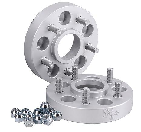 Hofmann Spurverbreiterung Aluminium 2 St/ück T/ÜV-Teilegutachten 30 mm pro Scheibe // 60 mm pro Achse inkl