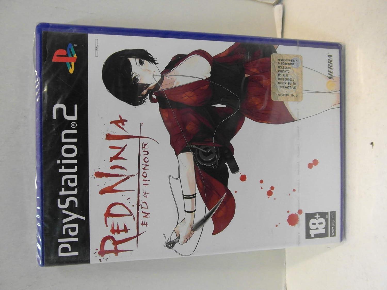 Sierra Red Ninja - Juego (PS2): Amazon.es: Videojuegos