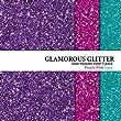 Glamorous Glitter Heat-Transfer Vinyl Multi-Pack 3 Sheets Purple, Pink, and Aqua 10\