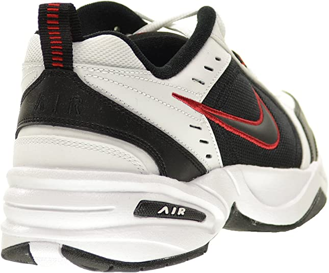 Nike Air Monarch IV (4E) Extra Wide Men's Shoes WhiteBlack Varsity Red 416355 101 (12 4E US)