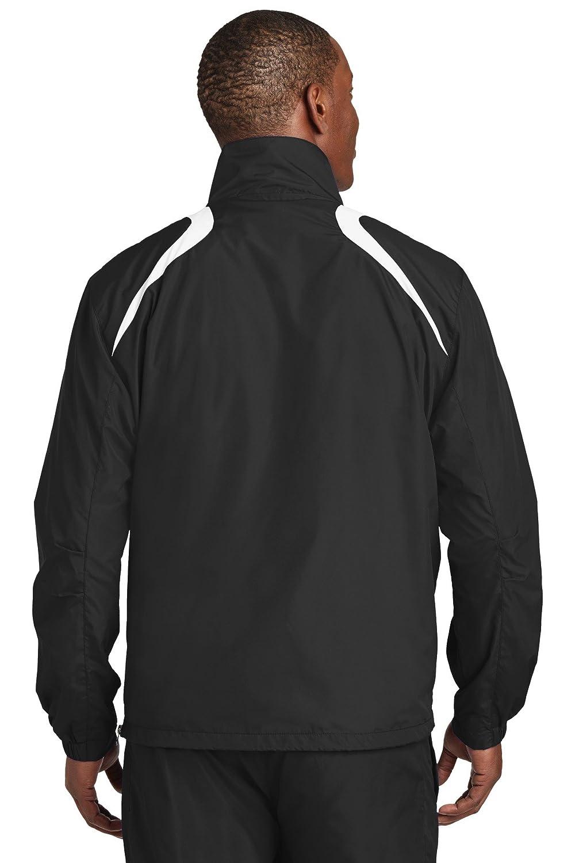 JST75 Sport-Tek Mens 1//2-Zip Wind Shirt