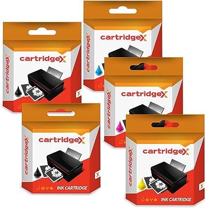 Juego de 5 cartuchos de tinta compatibles para LC223BK LC223C ...