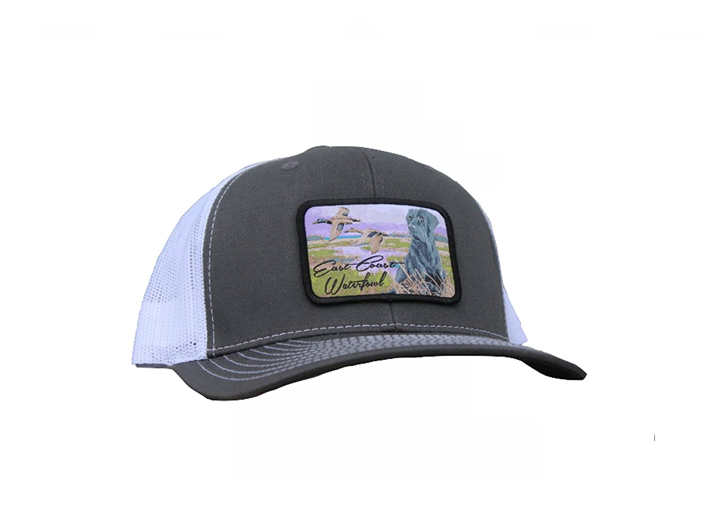 52056c3a520fe Amazon.com   Black Lab Hunting Dog SnapBack Trucker Hat