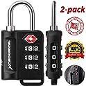 2-Pack XCSource TSA-Approved Luggage Lock