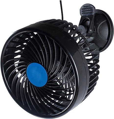 6 /'/' 8W Auto Kfz Lüfter Mini Ventilator Gebläse Klimaanlage Drehung