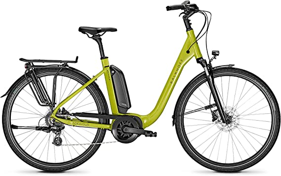 Kalkhoff Endeavour 1.B Move Bosch 2020 Comfort - Bicicleta eléctrica (500 Wh), color verde brillante, tamaño 28