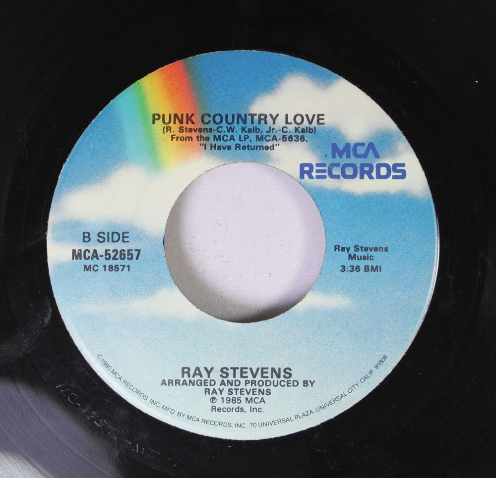 Ray Stevens Ray Stevens 45 Rpm The Haircut Song Punk Country