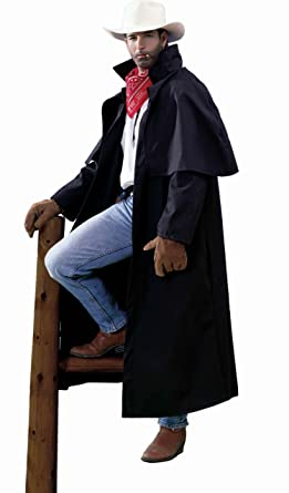 Forum Novelties Menu0027s Country Western Cowboy Duster Coat Adult Costume Black Standard  sc 1 st  Amazon.com & Amazon.com: Forum Novelties Menu0027s Country Western Cowboy Duster Coat ...