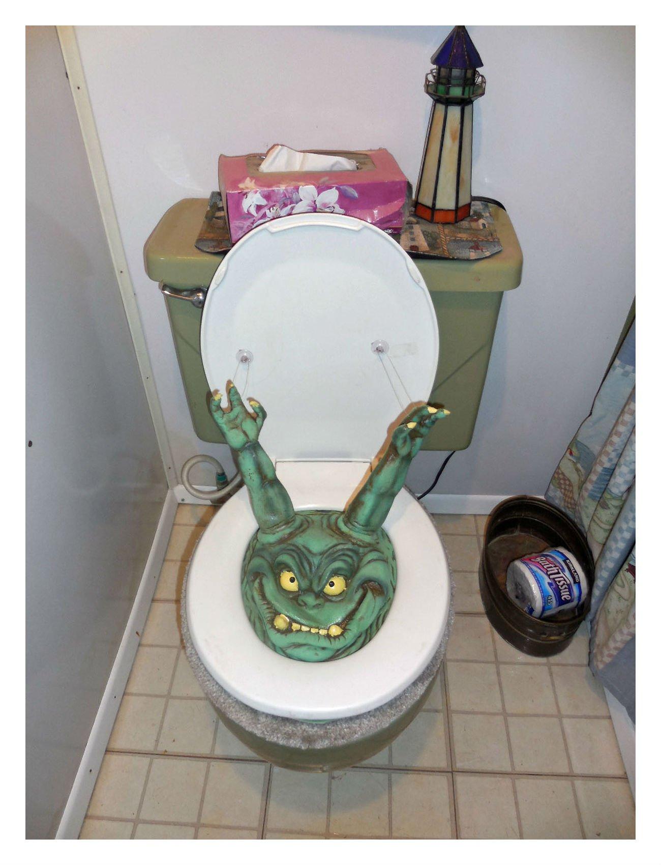Newest Toilet Prank Gag Bog Monster by Unbranded (Image #3)