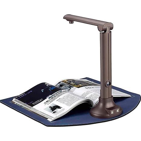 Escáner de libros y documentos, cámara de documentos portátil de ...