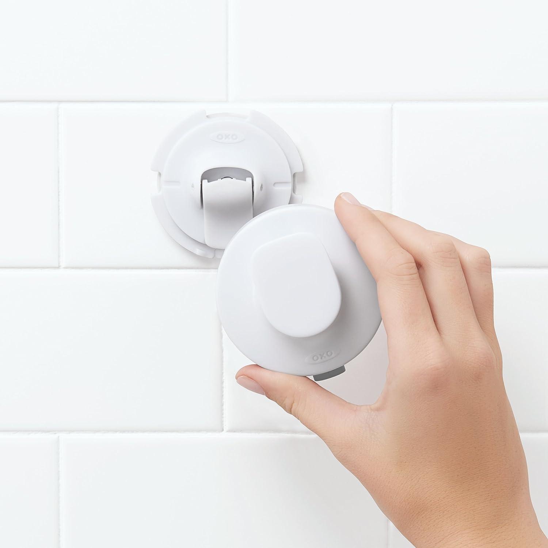 Amazon.com: OXO Good Grips Chrome Suction Fogless Shower Mirror: Home &  Kitchen