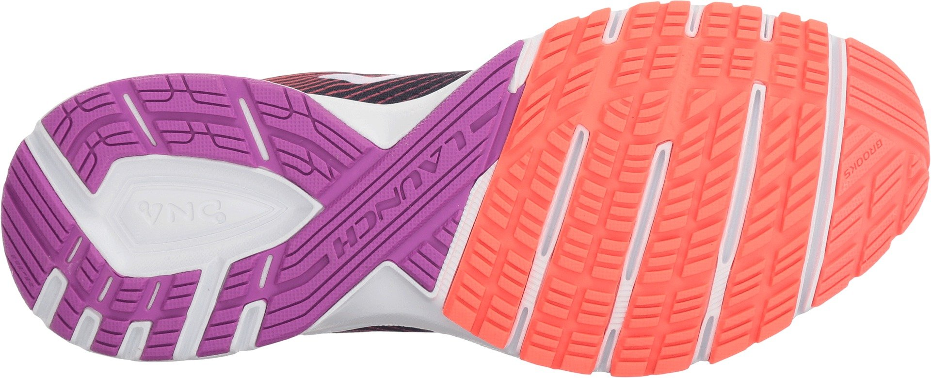 Brooks Women's Launch 5 Navy/Coral/Purple 9.5 B US by Brooks (Image #3)