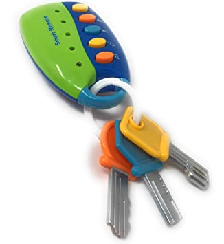 Baby Toy Flash Musical Smart Remote Car Key chain