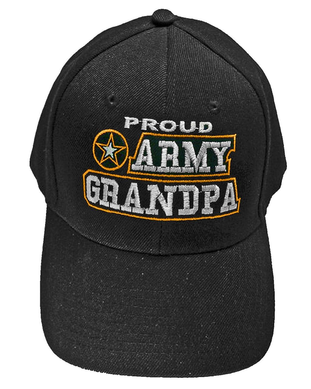 the latest c71c3 3bd0b ... closeout amazon proud army grandpa baseball cap black u.s. army star hat  grandfather clothing 3e333 e8e14