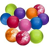 Hedstrom 6-Inch Indoor/Outdoor Playballs, Assorted Colors, 12-Pack (54-40714AZ)