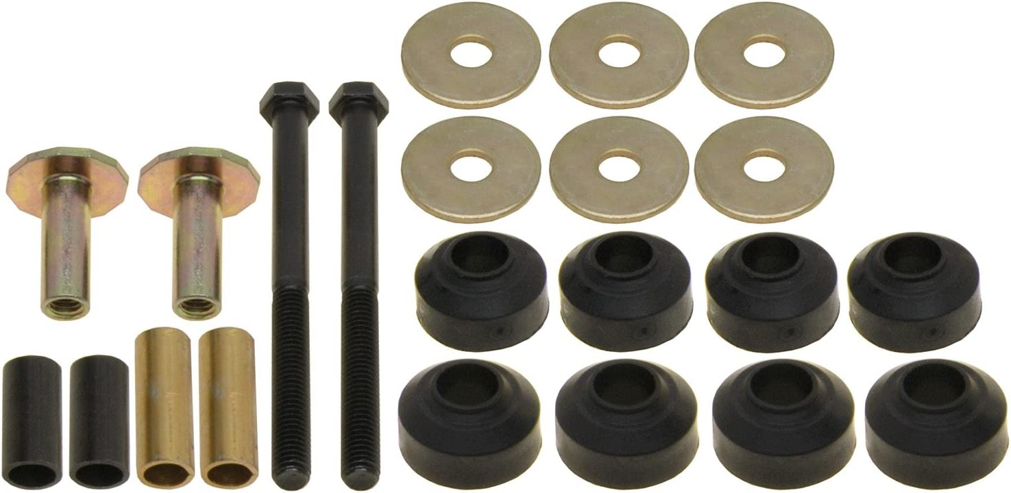 ACDelco 46G0000A Advantage Front Suspension Stabilizer Bar Link Kit with Hardware