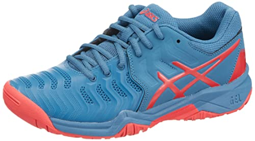 ASICS Gel Resolution 7 GS Junior Tennis Shoes AW18: Amazon