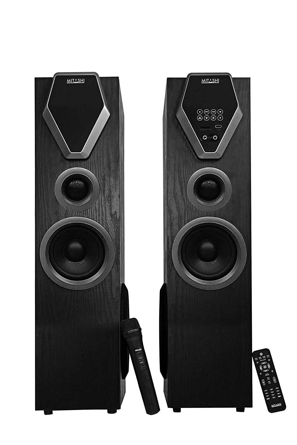 Mitashi TWR 8480 BT 2.0 Channel Tower Speaker with Bluetooth (Black)