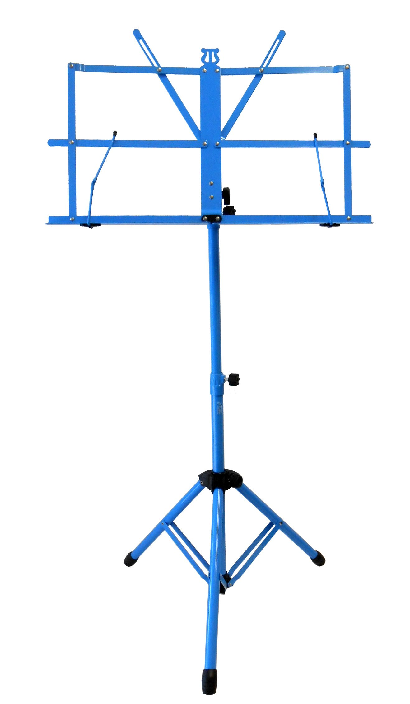 Audio2000'S AST4442BL Portable Sheet Music Stand - Blue
