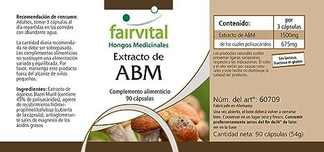 Extracto de Agaricus Blazei 500mg - agaricus blazei murrill - VEGANO ...