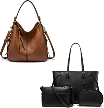 Realer Hobo Handbags, Vegan Leather, For Office, Daily Uses, Dating, Traveling, Shopping and Gifts etc.
