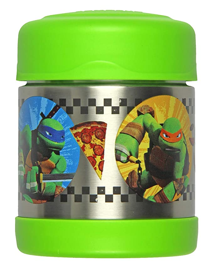 Termo aislado vacío Funtainer Tarro, Tortugas Ninja mutantes ...