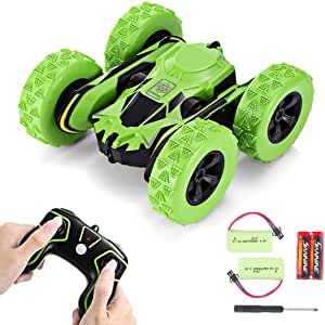 Hobby-Ace Stunt RC Cars Toys Double Sided Flip Car 360 Degree Spins Flips, 1/28 2.4Ghz Remote Control Off Road Electric Race Car Vehicles Double Sided Electric Toy Rc Cars Gift