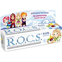 R.O.C.S. Toothpaste Kids Fruity Cone (3-7), No Fluoride