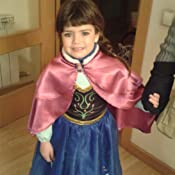 cbe320d9a MissFox Princesas Frozen Disfraz Princesa Anna Para Niña 110CM Como ...