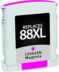Inksters Remanufactured Ink Cartridge Replacement for HP 88XL Magenta C9392AN / C9387AN (HP 88XL) - Magenta