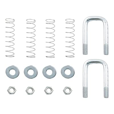CURT 66113 Gooseneck Safety Chain Anchor U-Bolt Kit: Automotive