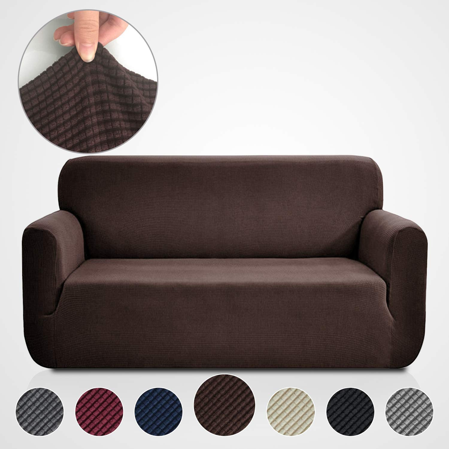Magnificent Rose Home Fashion Rhf Jacquard Stretch Sofa Cover Slipcover For Leather Couch Polyester Spandex Sofa Slipcovercouch Cover For Dogs 1 Piece Sofa Ibusinesslaw Wood Chair Design Ideas Ibusinesslaworg
