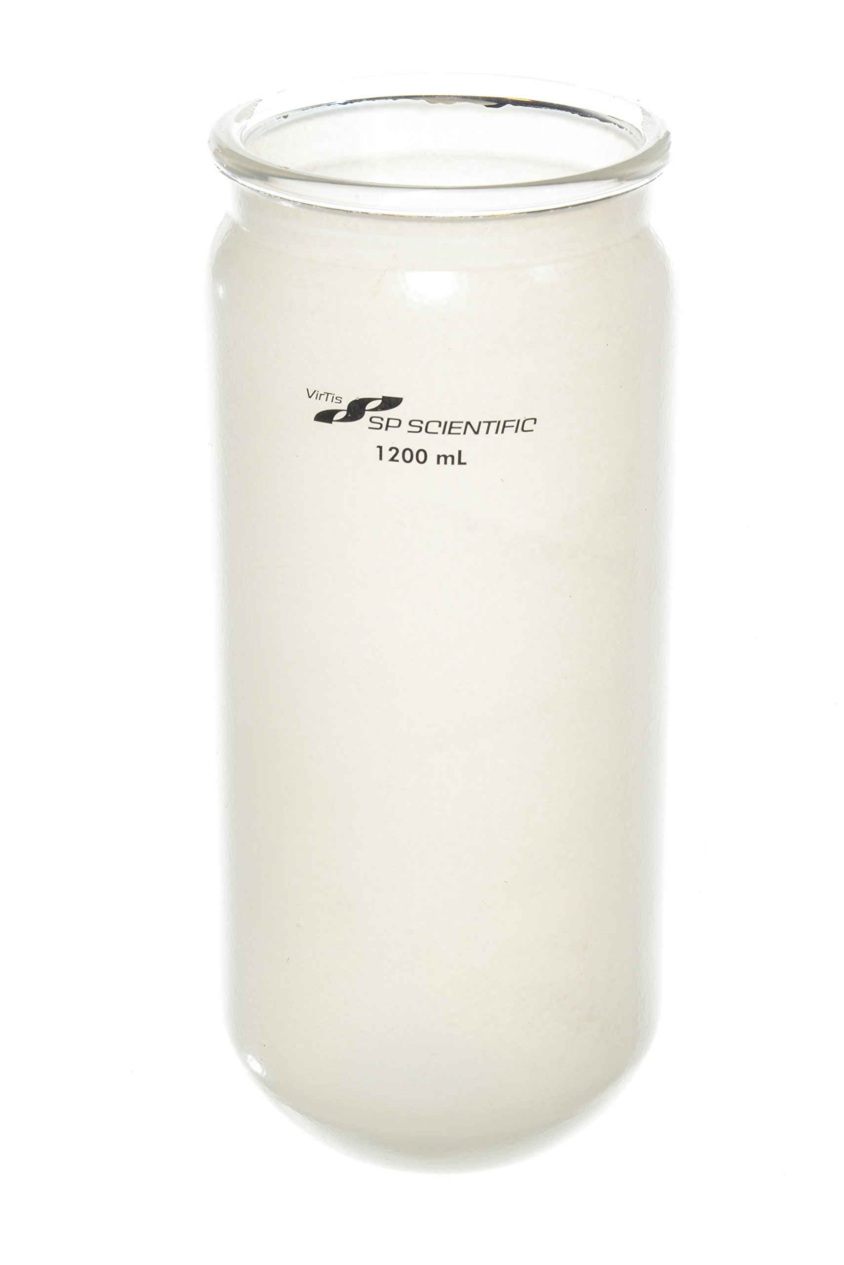 Wilmad LG-13100-510 Freeze Drying Flask, Safety Coated, 1200 Capacity by SP Scienceware
