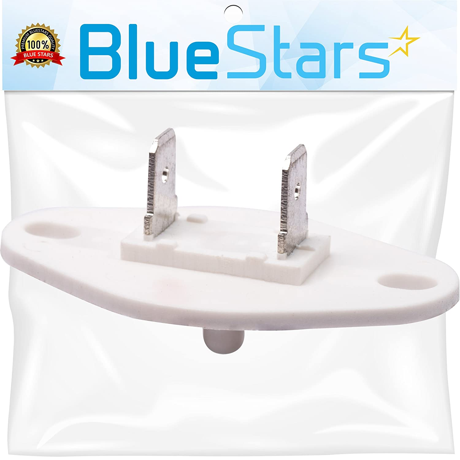 8577274 Dryer Thermistor Replacement part by Blue Stars - Exact Fit for Whirlpool Kenmore KitchenAid dryers - Replaces AP3919451, PS993287, 3390292