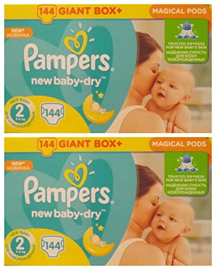 PAMPERS Active Baby Dry Pañales Mini 2 tallas 3 – 6 KG Talla:2
