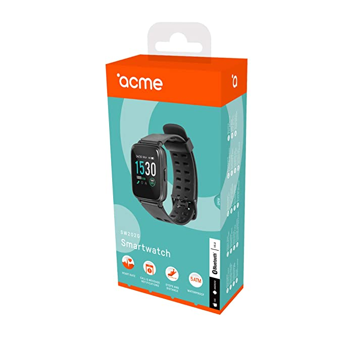 acme SW202G Reloj Inteligente | Smartwatch GPS | Reloj de ...