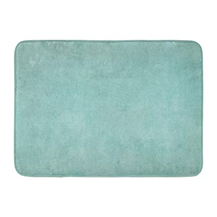 Amazon Com Outdrart Bath Mat Seafoam Green Foam Teal Aqua