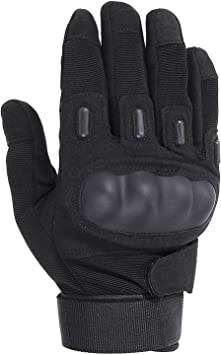 FUYUANDA Mens Half Finger Fingerless Outdoor Sports Gloves Camping Hiking Cycling Motorcycle Biking Cross Country Gloves A10
