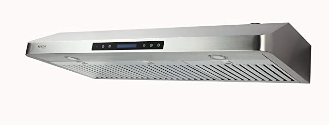 Bon EKON NAC01 Super Slim Under Cabinet/Wall Mounted Kitchen Range Hood /Four Speed