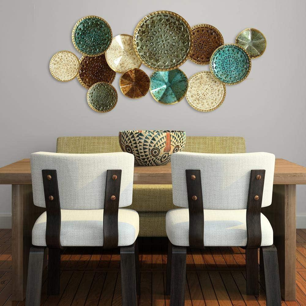 40 55 W X 2 56 D X 20 67 H Stratton Home Decor Multi Plates Wall Decor Home Decor Home Decor Accents