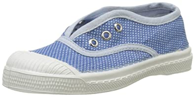 e04034b7b16c6a Bensimon Girls' Tennis Elly POIS Denim Trainers, Blue (BLEU 532), 24 ...