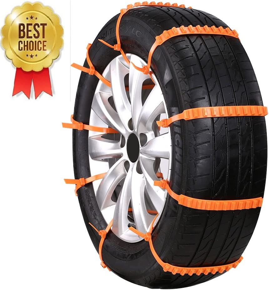 Fanala Durable Non-Slip Car Anti-Skid Tire Belt Tire Snow Chains Car Accessories Tire Chains