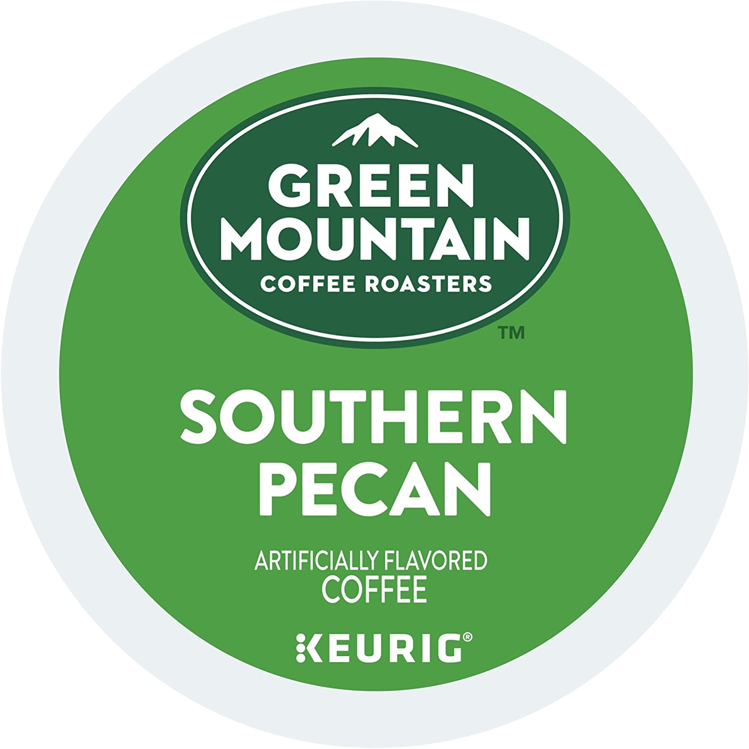 Green Mountain Coffee Southern Pecan Keurig Single-Serve K-Cup Pods, Light Roast Coffee, 24 Count 6772