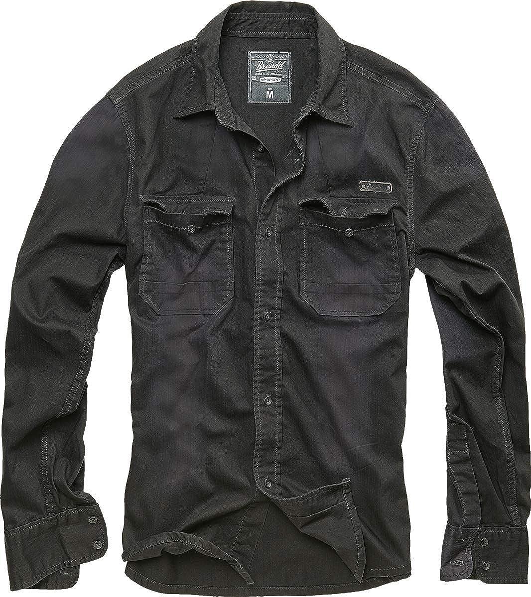 Brandit Hardee Camisa Negro XL