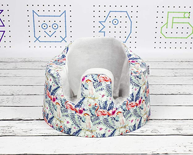 Amazon.com: Flamingos Bumbo Seat Cover, Handmade Cover for Floor ...