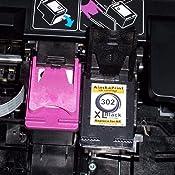 2er Set Druckerpatronen Kompatibel für Hp 302 XL 302XL HP