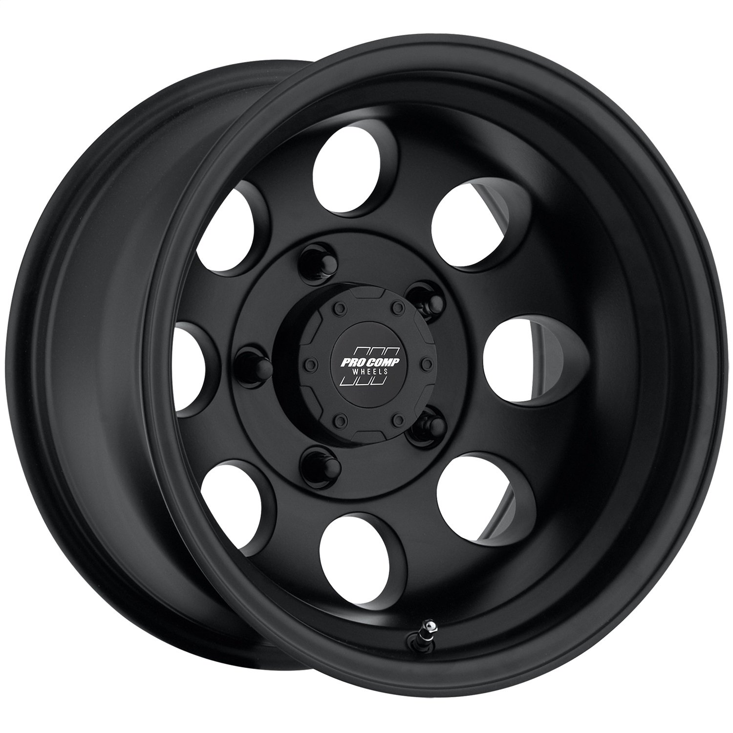 Pro Comp 70695165 Flat Black Wheel with Painted Finish (15x10''/5x114.3mm)