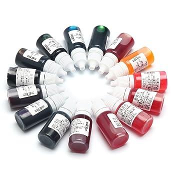 EsportsMJJ 15 Color Uv Epoxi Coloreado Tinte Color De La Mezcla Del Pigmento Colorante Para Diy Hobbiers