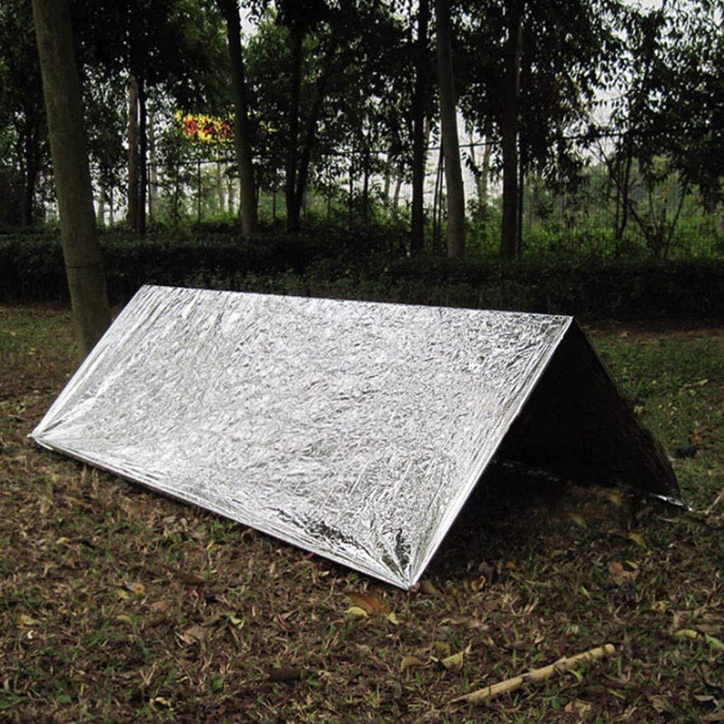 Vkospy Couverture de Sauvetage durgence de Survie Pet Sports de Plein air Camping Randonn/ée Escalade Couverture disolation